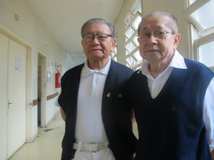 Os médicos irmãos Paulo e Massao Kahol Soejima