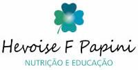Logomarca Hevoise F Papini - Nutrição e Educação